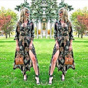 Zara Floral Maxi Dress